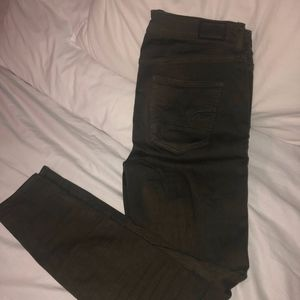 American Eagle Outfitters Jeans - Green American Eagle skinny jeans